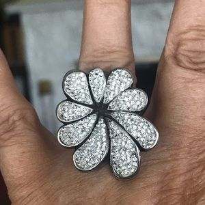 925 Sterling Silver Statement Ring